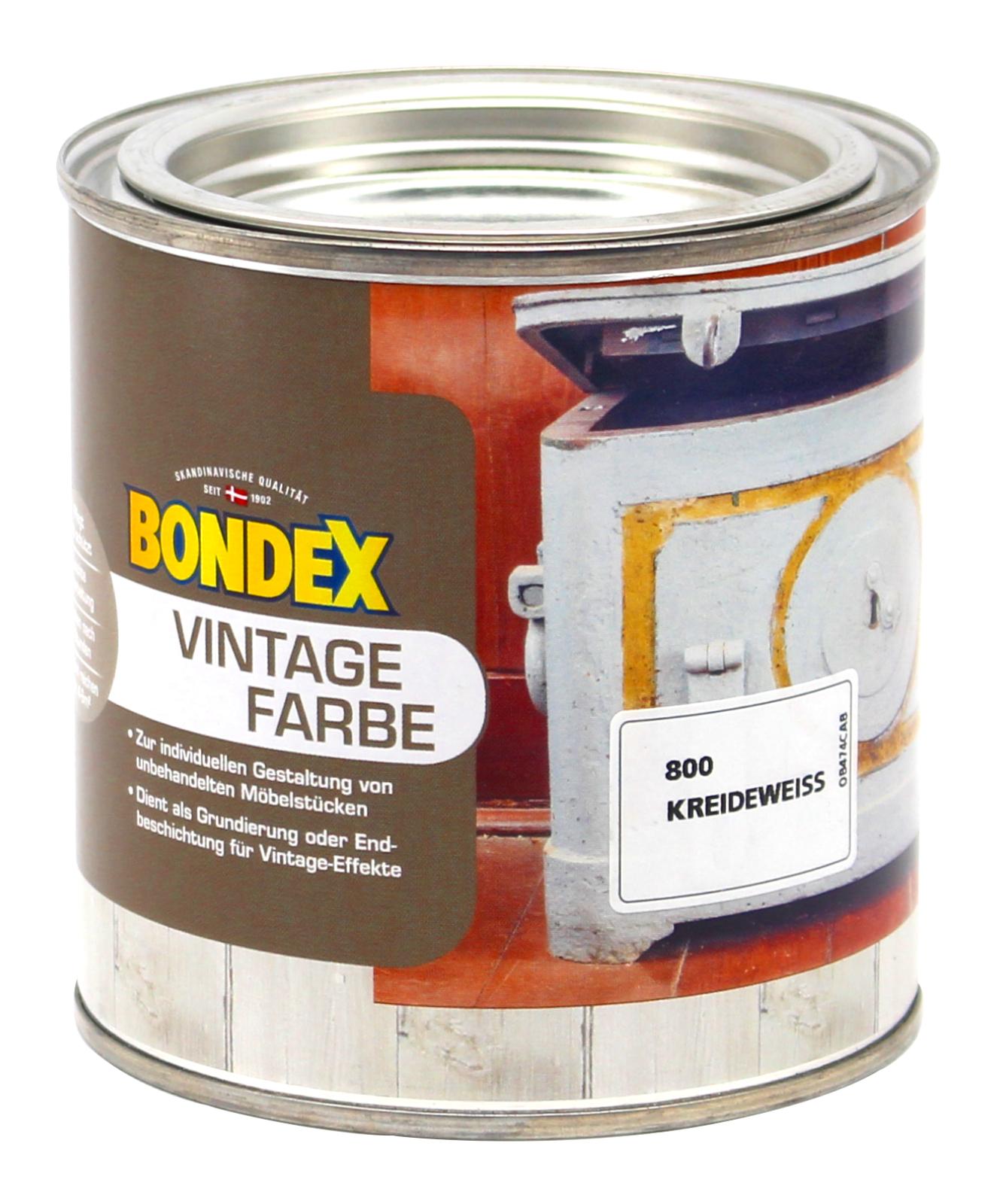 bondex vintage farbe kreideweiss holzfarbe holz m bel. Black Bedroom Furniture Sets. Home Design Ideas