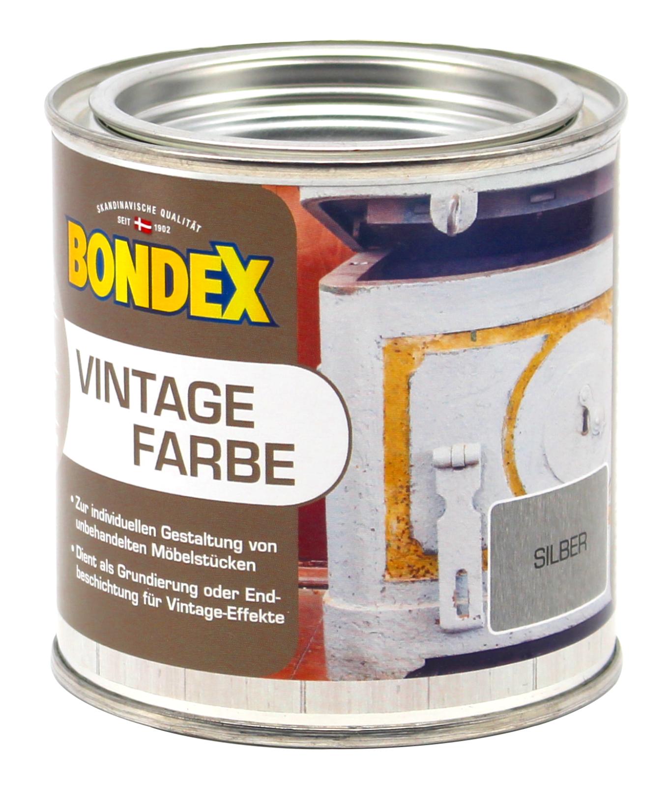bondex vintage farbe silber holzfarbe holz m bel innen 0. Black Bedroom Furniture Sets. Home Design Ideas