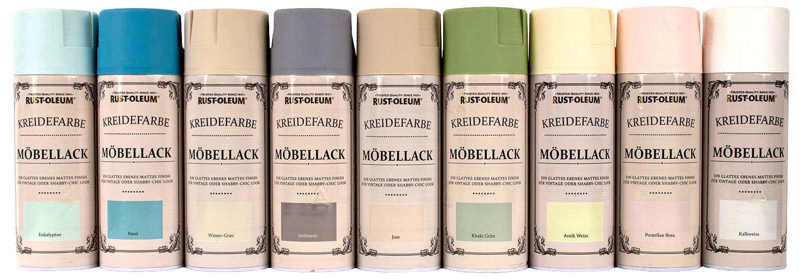 rust oleum kreidefarbe 400ml spraydose m bellack shabby. Black Bedroom Furniture Sets. Home Design Ideas